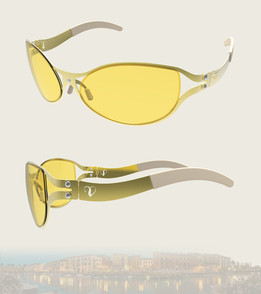 Metal Sheet Sunglasses
