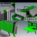 Rabaconda portabledesk  toolbox