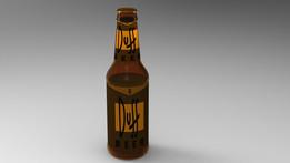 Duff Beer bottle