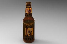 Duff Beer bottle
