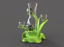 IRONCAD 2014 - Glassware Set
