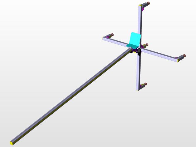 Rocket launch pad | 3D CAD Model Library | GrabCAD