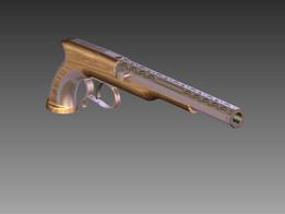 Antique Pistol Gauldery 1489
