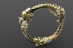 The Elder Scrolls Online Ring - Charm - Emblem