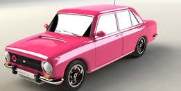 Fiat 124 (Murat 124 Solid model)