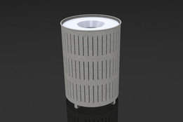 Trash Receptacle - commercial project