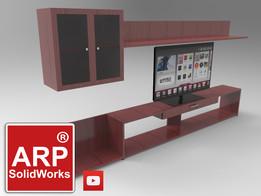 TV cabinet - Mueble de televisión