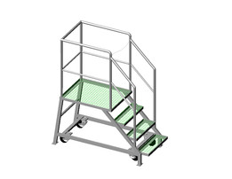 STAIR-LADDER MOBILE / ESCALERA MOVIL