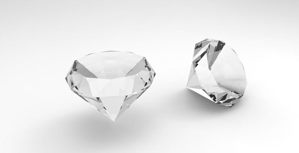 Simple Diamond | 3D CAD Model Library | GrabCAD