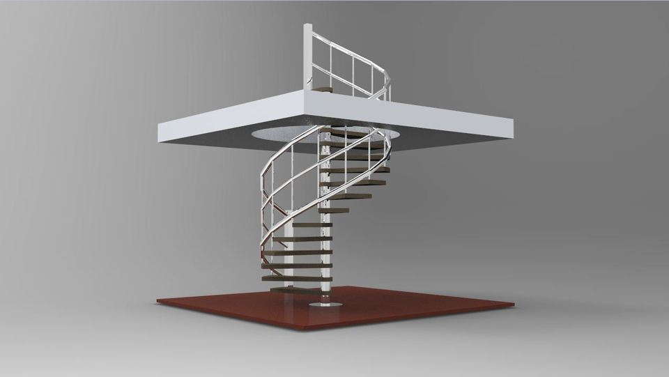 Curved Staircase Cad Drawing Staircase Gallery