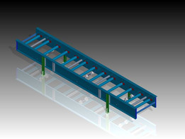 Tramo modular cinta transportadora