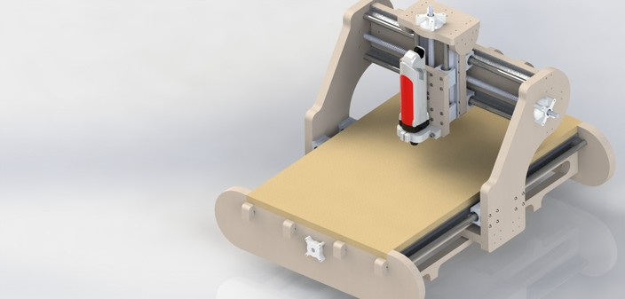 8 Projects Milling Machines Cnc Router In Cad 3d 042 Cnc