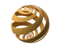 """M.C. Escher """"Sphere Spirals"""""""