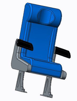 armchair - Recent models | 3D CAD Model Collection | GrabCAD