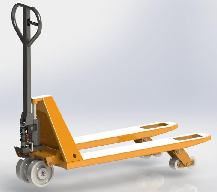 Tracked Pallet Jack: 3D CAD Model Library