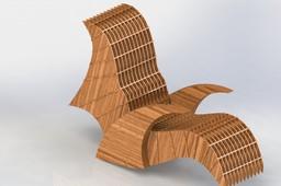 Wooden Rockingchair