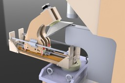 Cone Punching Multi Axis Machine Concept