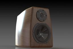 Bookshelf loudspeaker design
