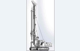 32000kg-Rotary drilling rig -ZY100