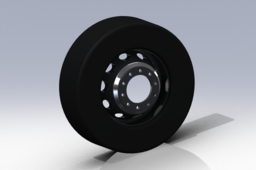 Truck Wheel and Tire