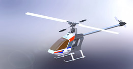 RC Helicopter Hirobo Shuttle Plus