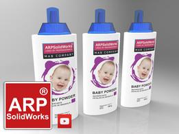 Baby powder bottles