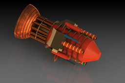 Orion propulsion gunship