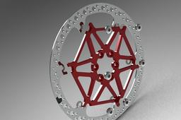 Disc Brake w floating rotor