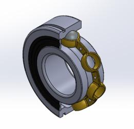 bearing 9262-2004 Suzuki GS750 6204 ZN