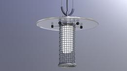 Wire Mesh Lamp