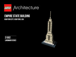Lego Architecture Set 21002 Empire State Building