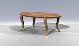 Oval Old Oak Table