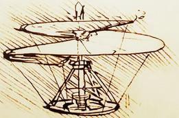 Aircraft Helica - Leonardo Da Vinci - 3D printable
