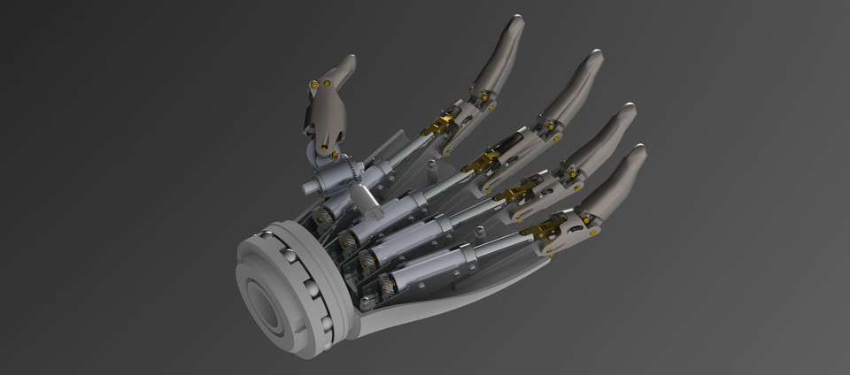 prosthetic hand - Recent models   3D CAD Model Collection
