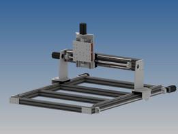 diy cnc 1200x800x300 linear rails, lead screws, nema 23 425