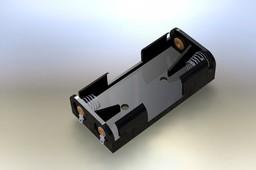battery holder 2 x AAA