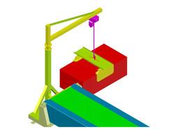 Chain hoist and teleskopic conveyor