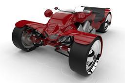 T-Wheel Sportbike by Tommy