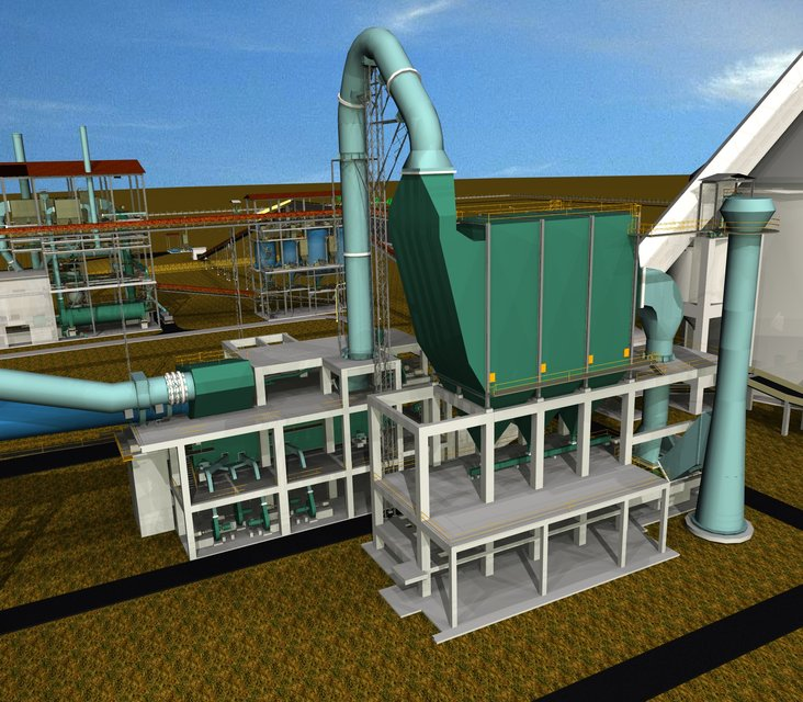 Flash Cement Plant In Cooler : Cooler electrostatic precipitator cement plant