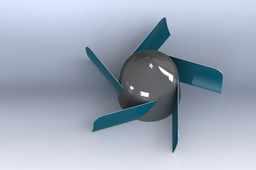 Propeller of Kaplan Turbine