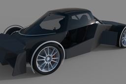 Supercar model for 500G contest II