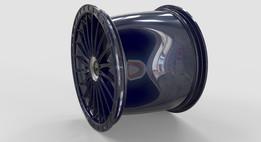 GT Wheel Rim Rear RH