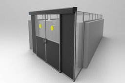 Data сenter сold aisle