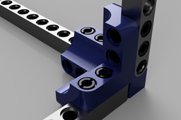 3D LEGO Technic Connector
