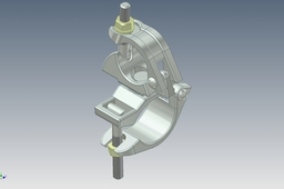 Rotatable clamp used in tubular scaffolding. (Поворотный хомут для строительных лесов Ф48хФ60)