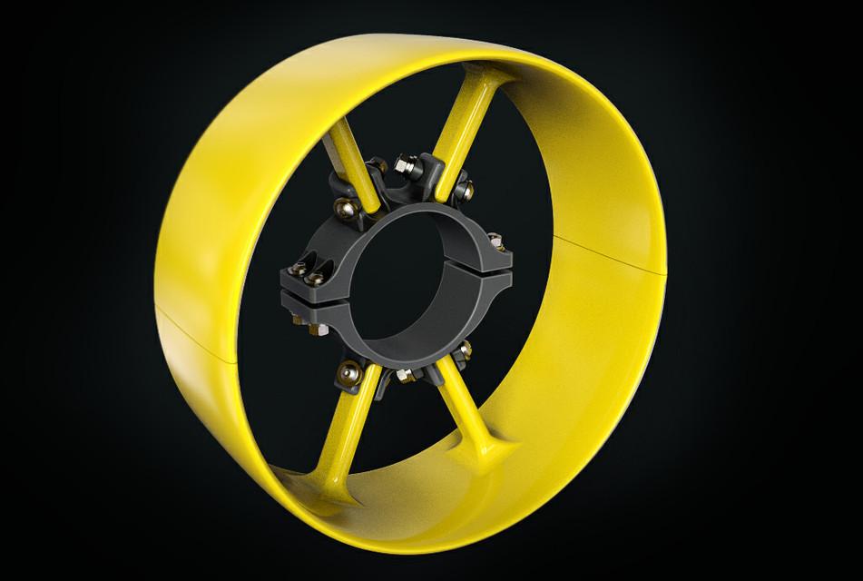 Minn Kota Endura Max 55 Thruster Shroud | 3D CAD Model