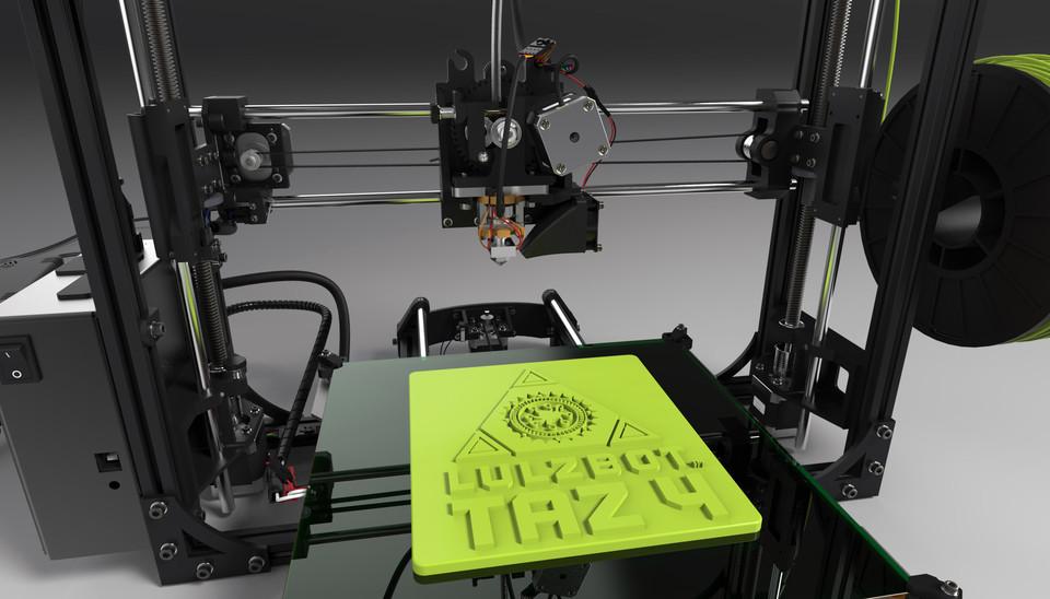 **LULZBOT TAZ 4 3D PRINTER!**** | 3D CAD Model Library