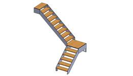 staircase escalier