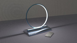 Loop Lamp - LED strip based wall or table lamp