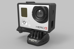 GoPro Hero 3 HD Camera with the Frame